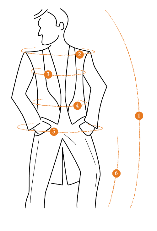 Méretvételi ábra